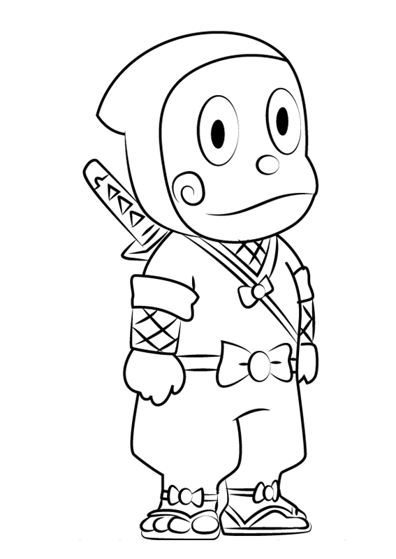 ninja hattori coloring pages huge collection of ninja hattori colouring pages pages ninja hattori coloring