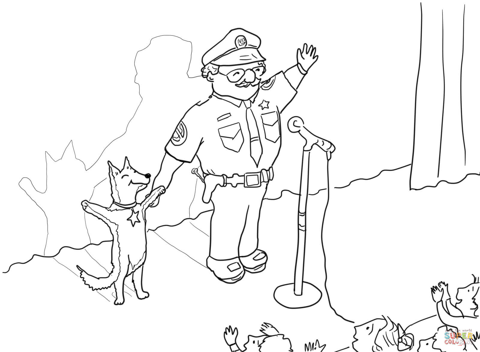 officer buckle and gloria clip art officer buckle and gloria with paper work coloring page gloria clip art buckle and officer