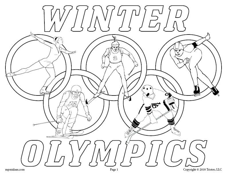 olympic colouring sheets free printable winter olympics coloring pages sports sheets colouring olympic