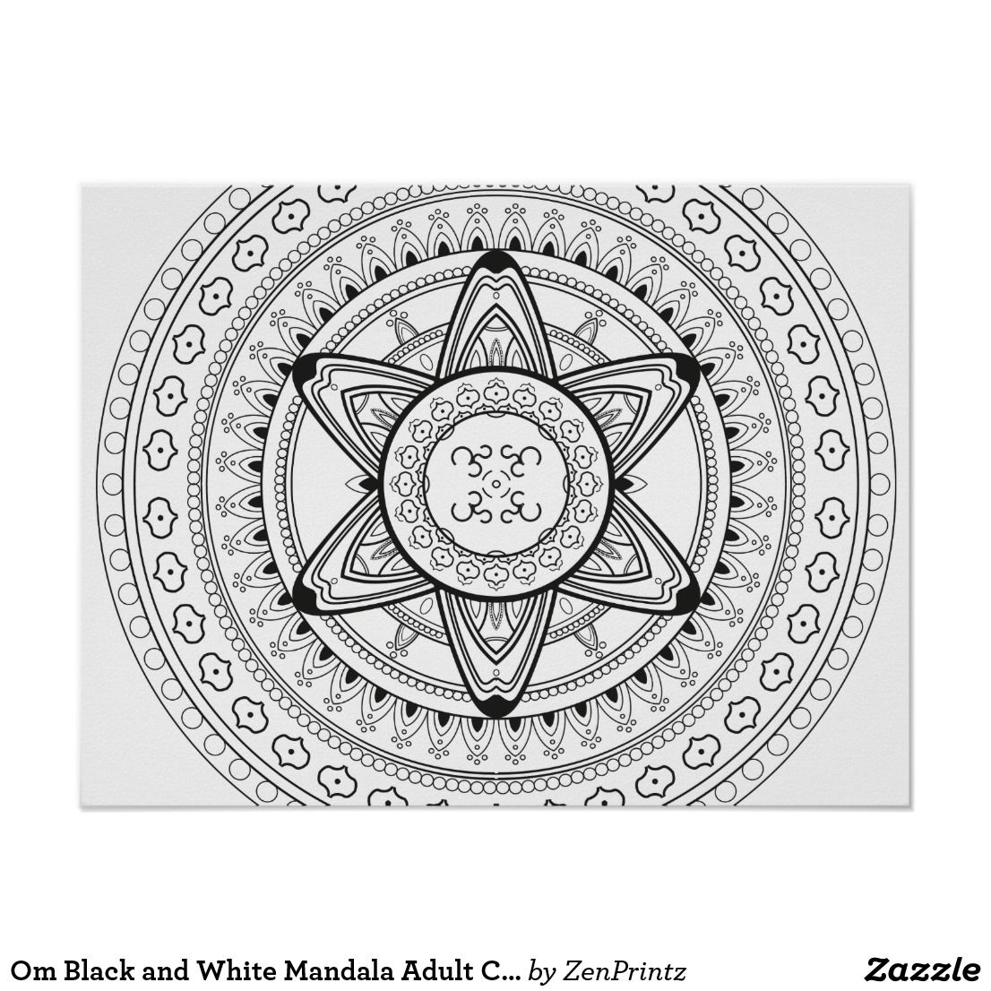 om mandala coloring page aum ohm urban threads unique and awesome embroidery om page mandala coloring