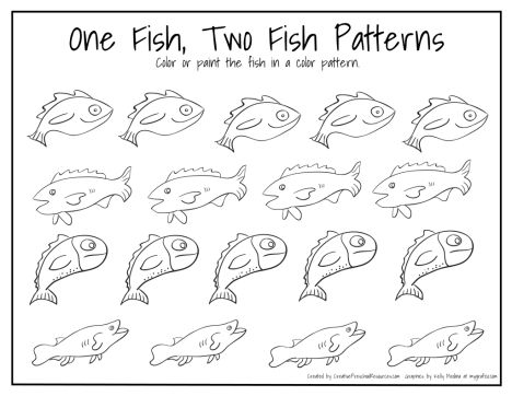 one fish two fish coloring pages dr seuss one fish two fish coloring pages coloring pages one two coloring fish fish pages
