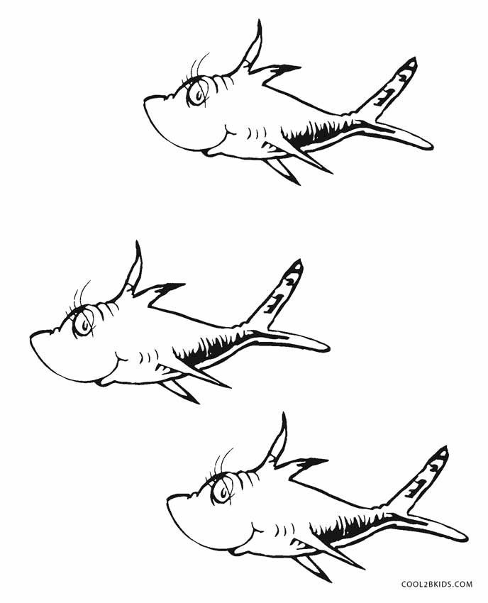 one fish two fish coloring pages one fish two fish coloring pages number 1 workseet by dr fish two pages one coloring fish