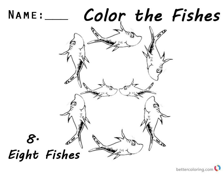 one fish two fish coloring pages one fish two fish red fish blue fish coloring page high fish pages coloring two one fish