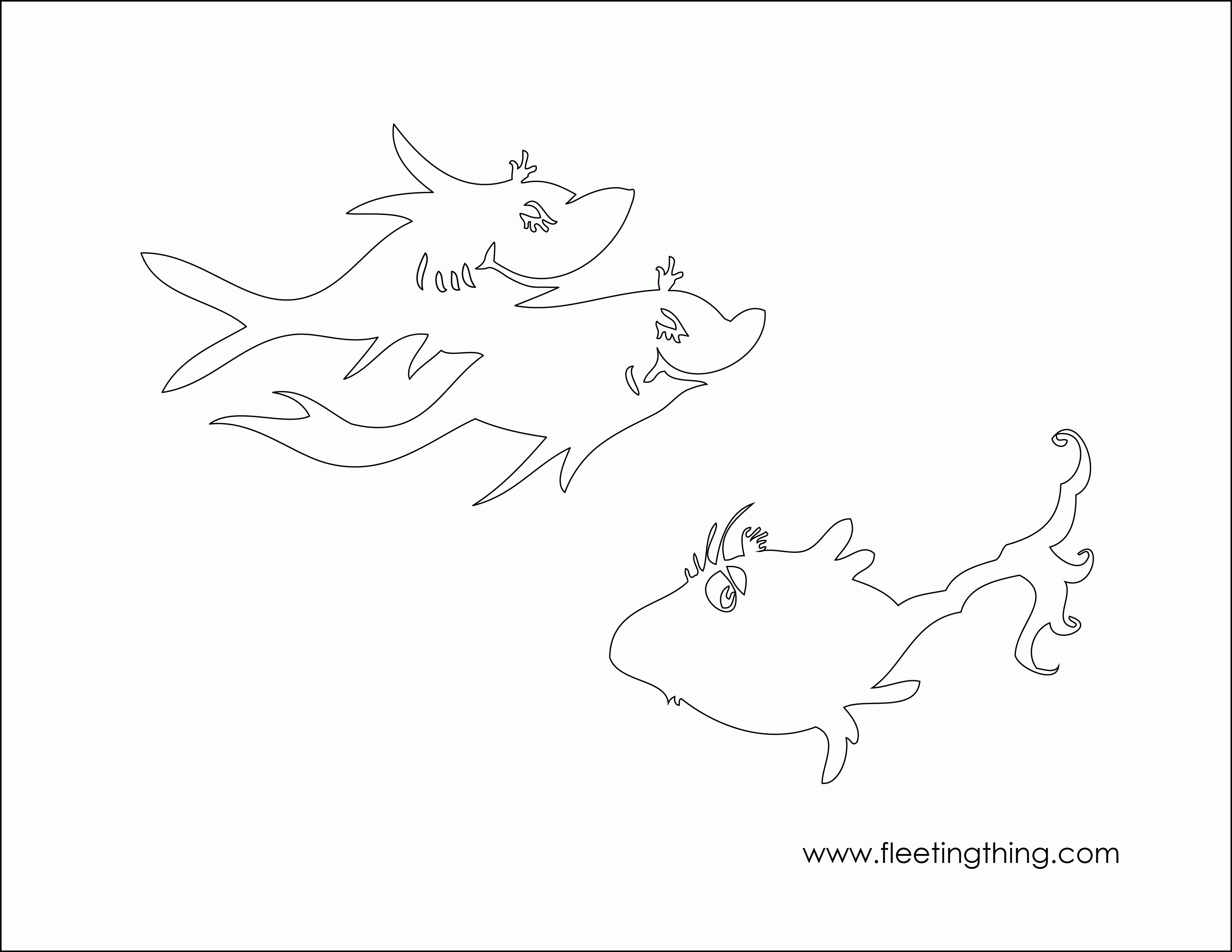 one fish two fish coloring pages one fish two red blue opposites lesson sketch coloring page fish one two coloring pages fish