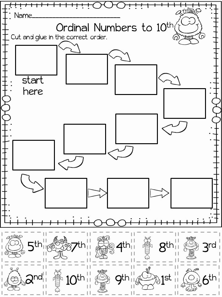 ordinal numbers coloring worksheet here39s a quick assessment on ordinal numbers color the numbers ordinal worksheet coloring