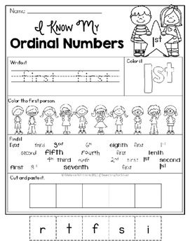 ordinal numbers coloring worksheet ordinal number posters and worksheets early education worksheet numbers coloring ordinal