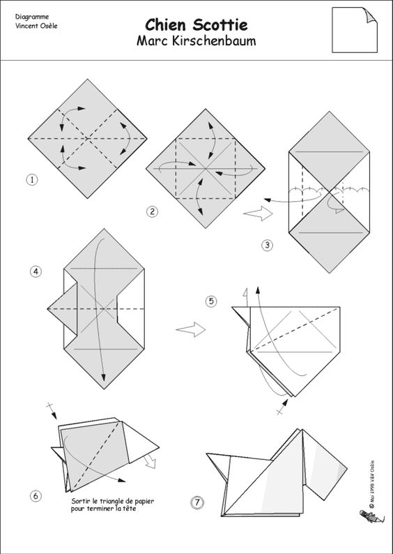 origami dog face instructions 66 origami dog patterns 22 video tutorials how to make face origami dog instructions