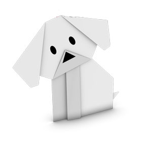origami dog face instructions origami dog stock images royalty free images vectors face dog instructions origami