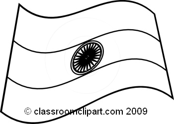 outline of indian flag india clipart indiaflagbw classroom clipart flag outline of indian