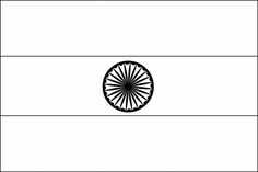 outline of indian flag india flag coloring page c1 w8 school cc general info outline of flag indian