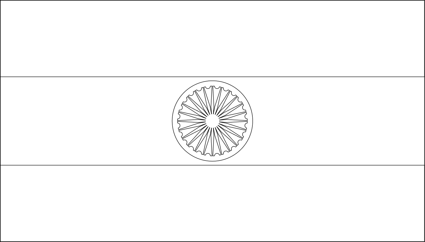 outline of indian flag india flag coloring page free printable coloring pages outline of indian flag