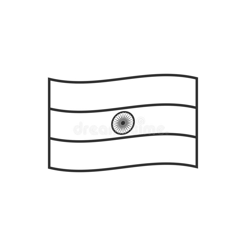 outline of indian flag india flag icon in a heart shape in black outline flat of flag outline indian