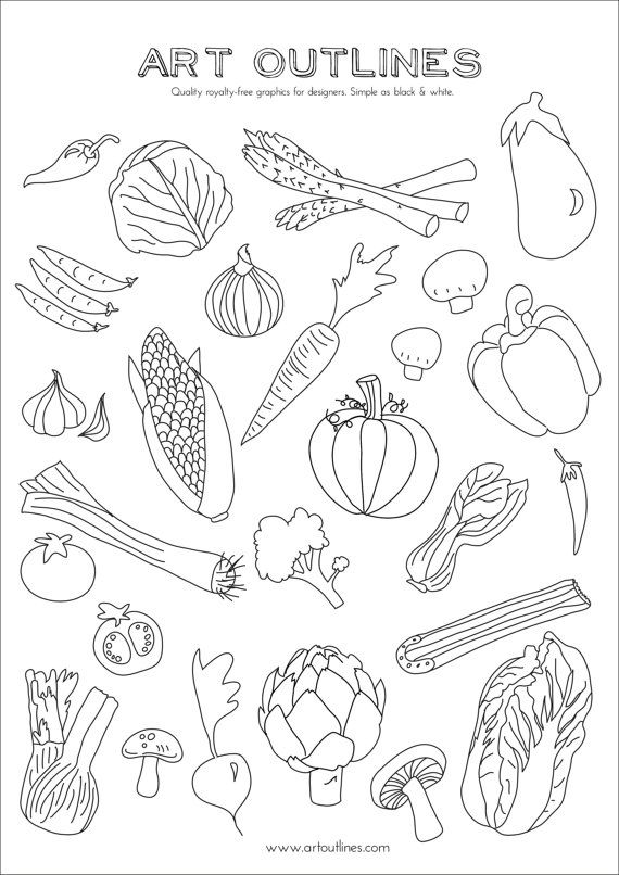 outline pictures of fruits and vegetables fruit and vegetable gray outline vector set minimalistic pictures vegetables fruits outline and of
