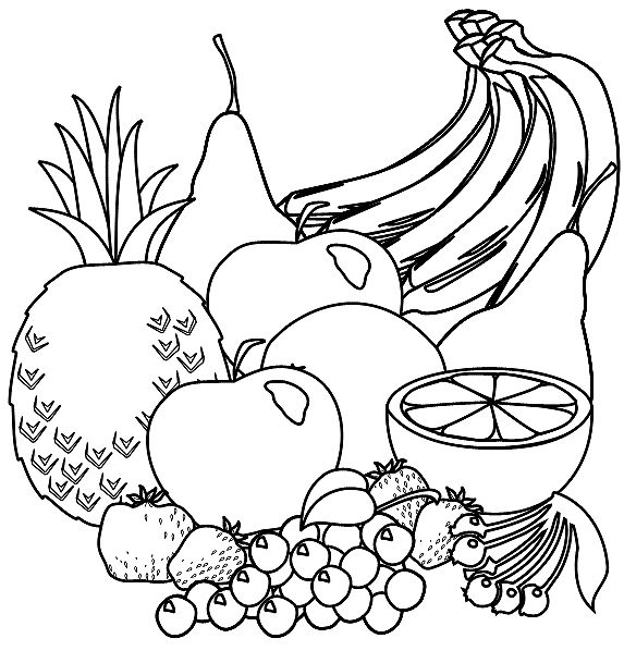 outline pictures of fruits and vegetables fruit and vegetables outlines vector icons stock vector outline fruits and of vegetables pictures