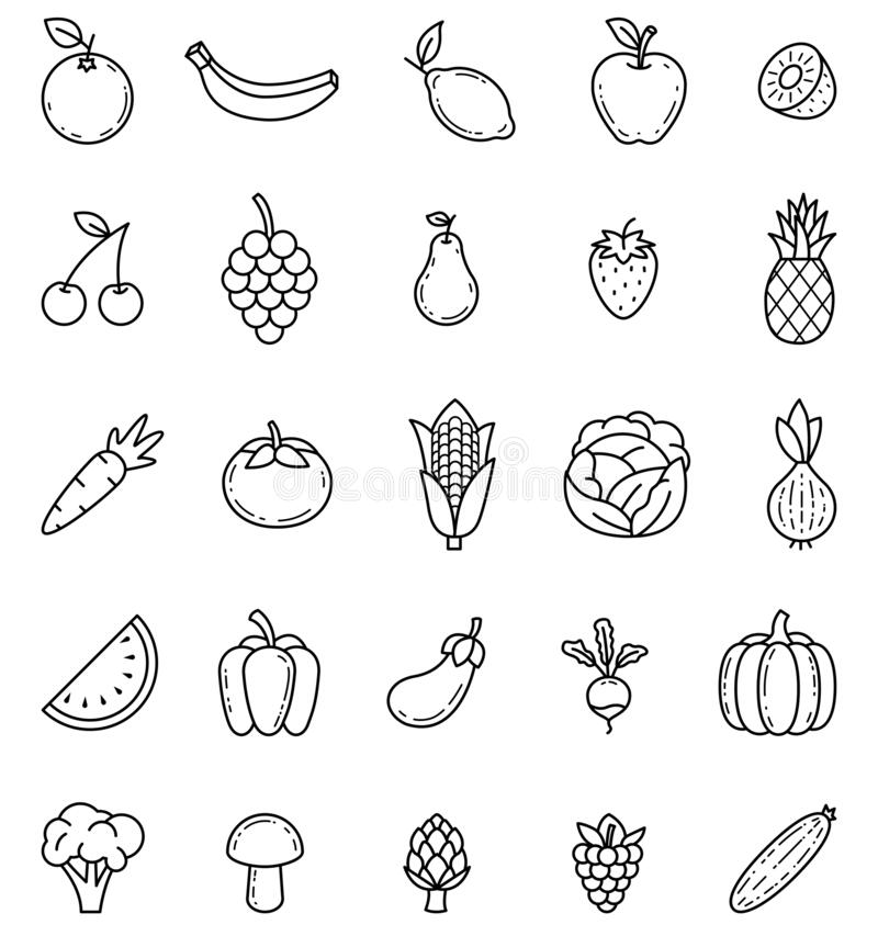 outline pictures of fruits and vegetables fruits and vegetables images outline fruits of pictures vegetables outline and