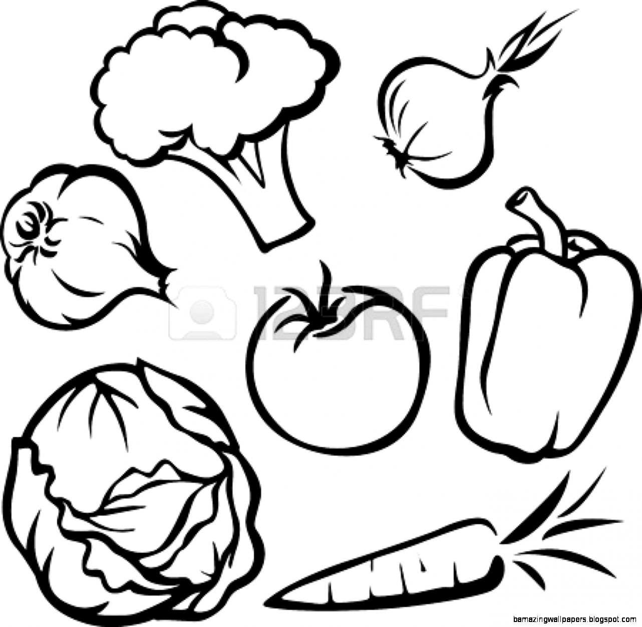 outline pictures of fruits and vegetables pin on coloring fruits and vegetables pictures fruits outline vegetables and of