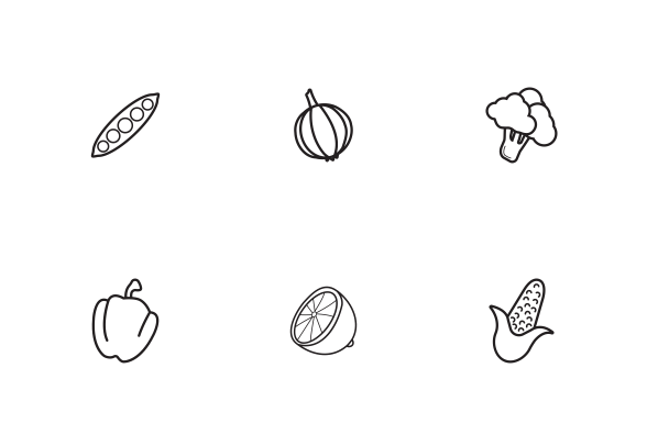 outline pictures of fruits and vegetables vegetable clipart outline 10 free cliparts download vegetables outline fruits and pictures of