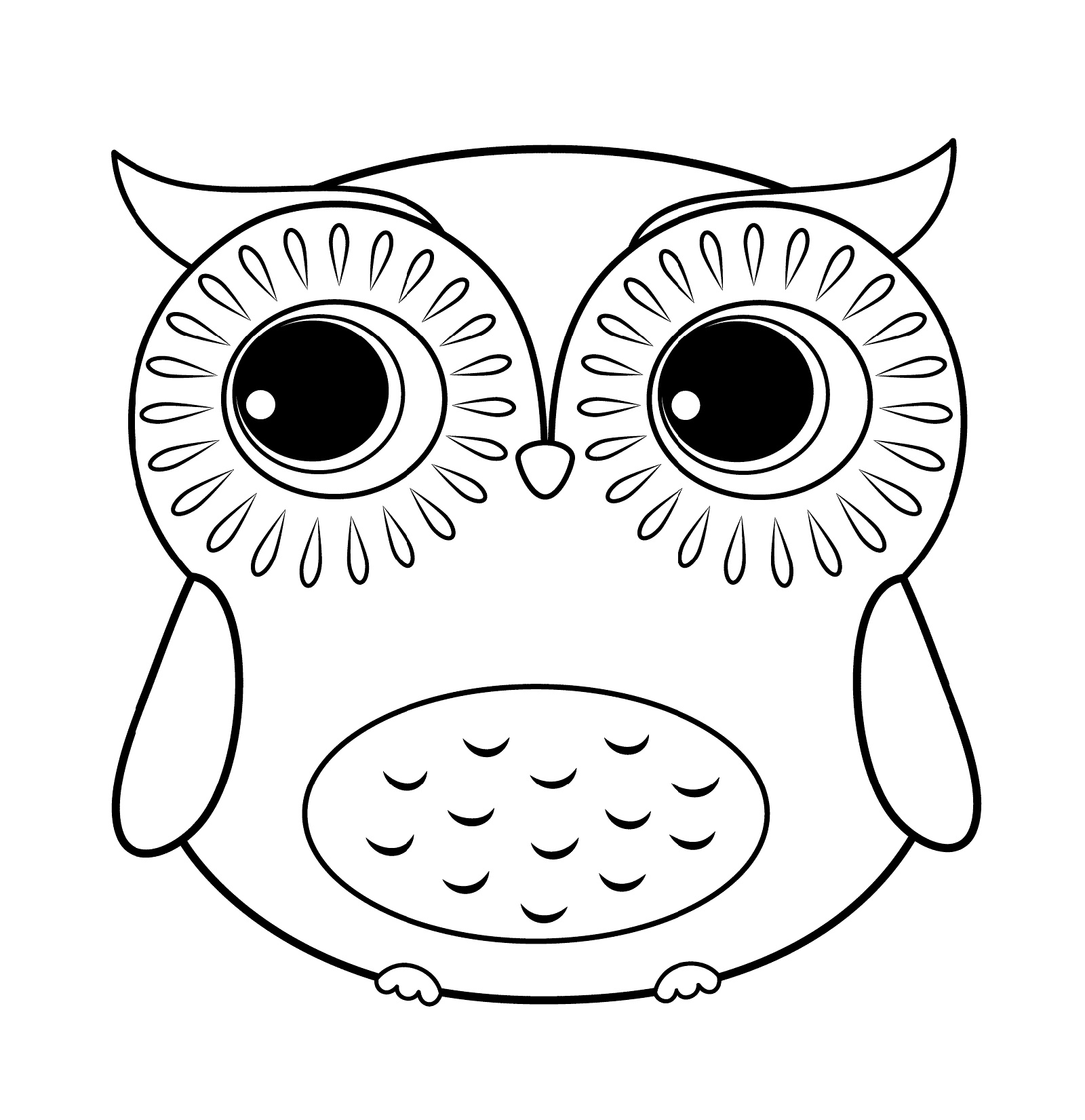 owl coloring pages cute owls coloring pages coloring home owl pages coloring