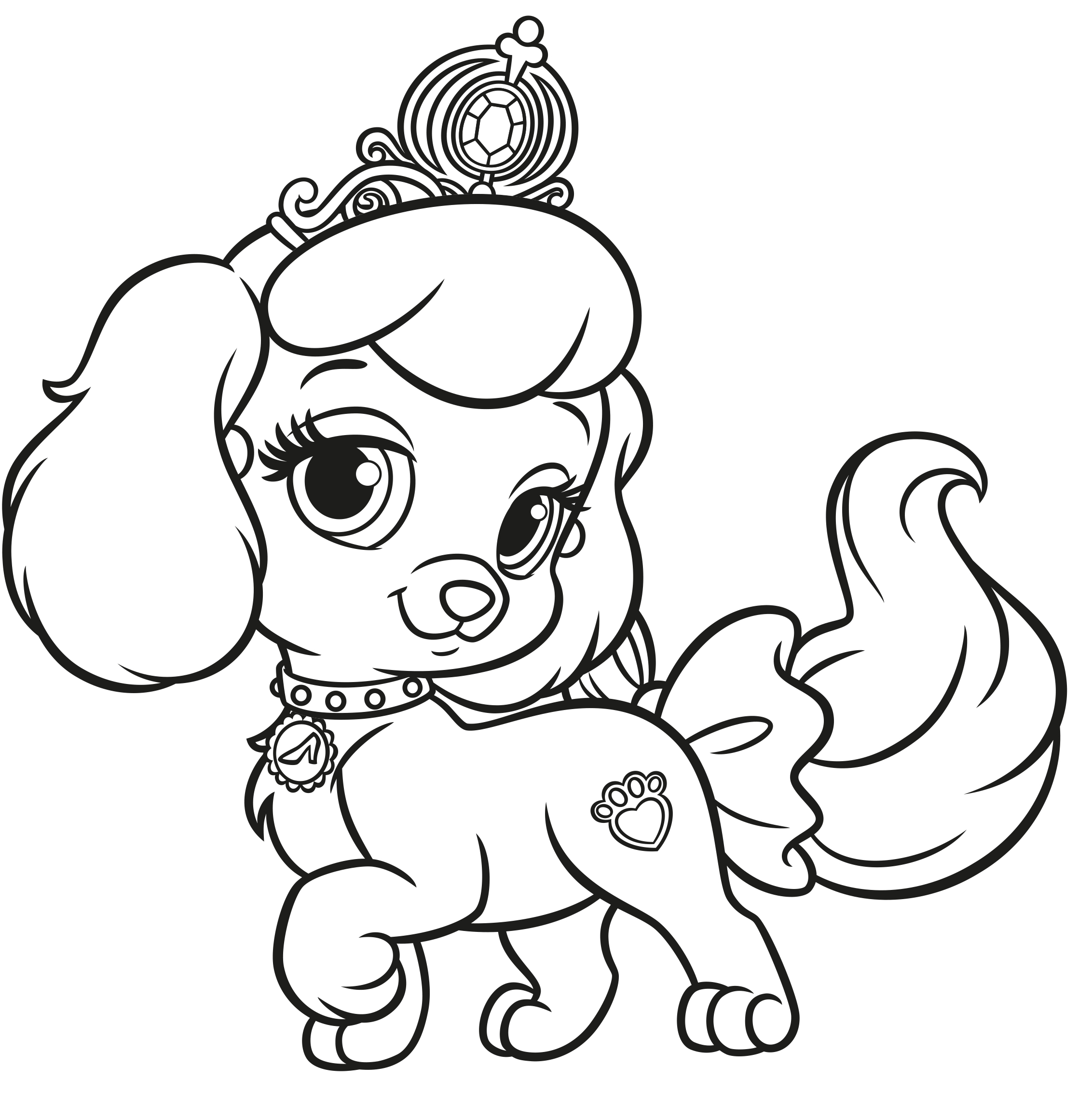 palace pets pictures printable palace pets daisy pdf coloring pages pets pictures palace