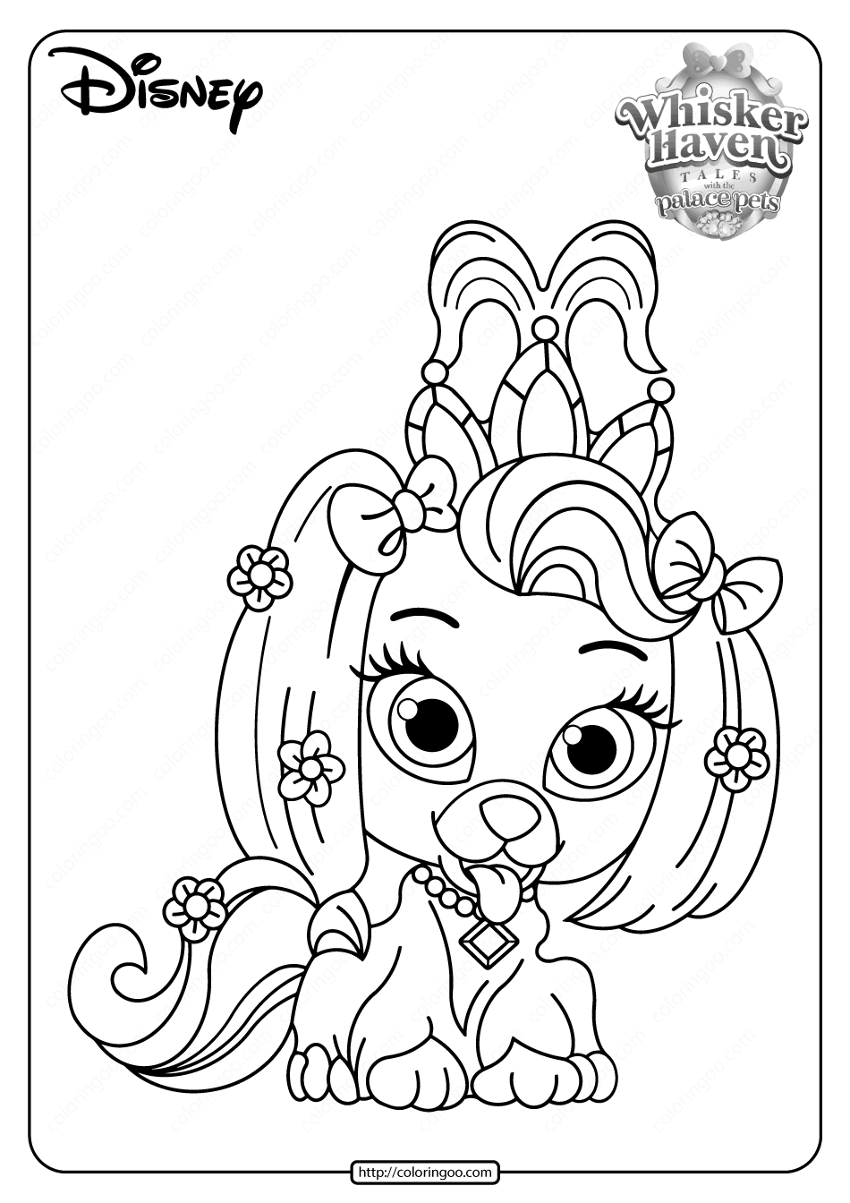 palace pets pictures printable palace pets macaron pdf coloring pages pictures pets palace
