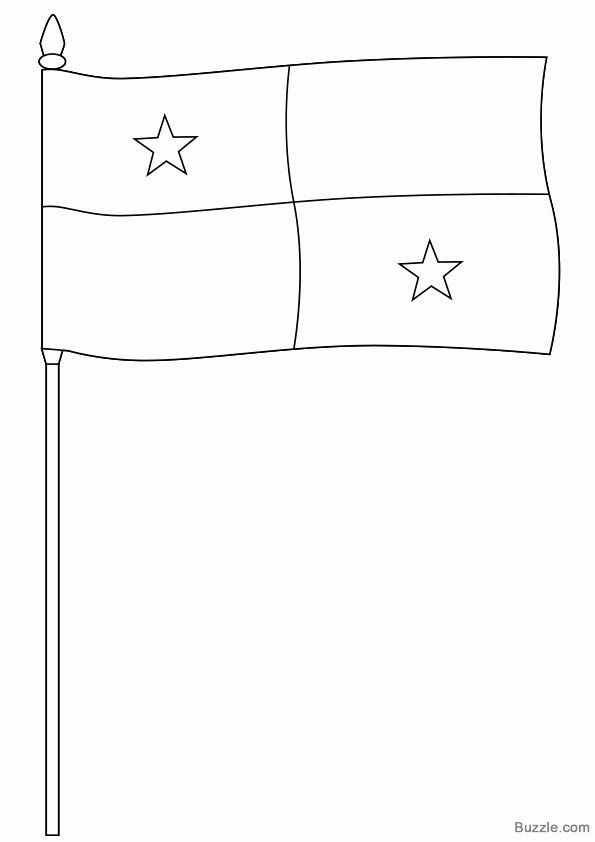 panama flag coloring page clip art flags panama coloring page abcteach flag panama page coloring