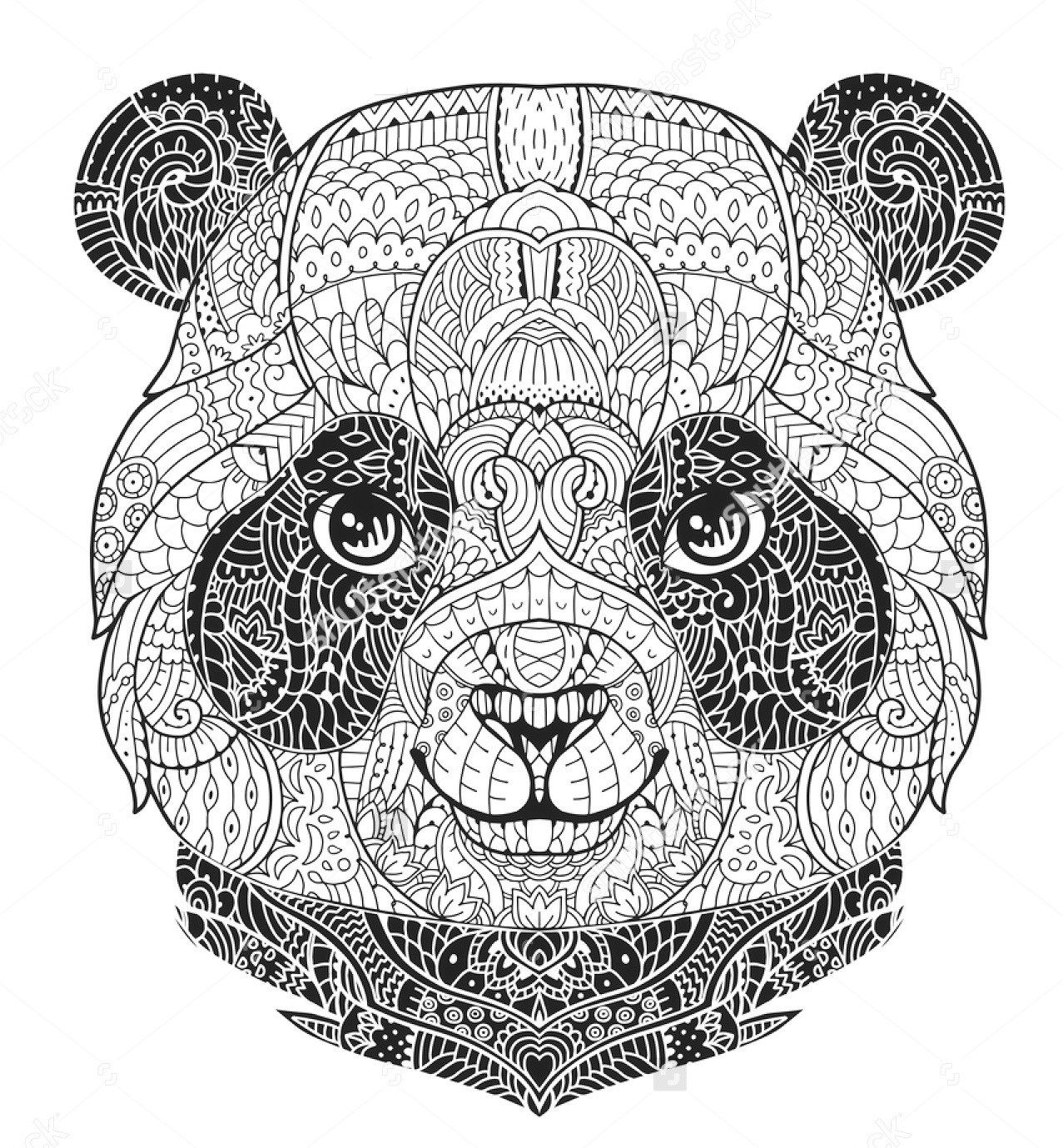pandas coloring pages panda bear coloring pages to download and print for free pages coloring pandas