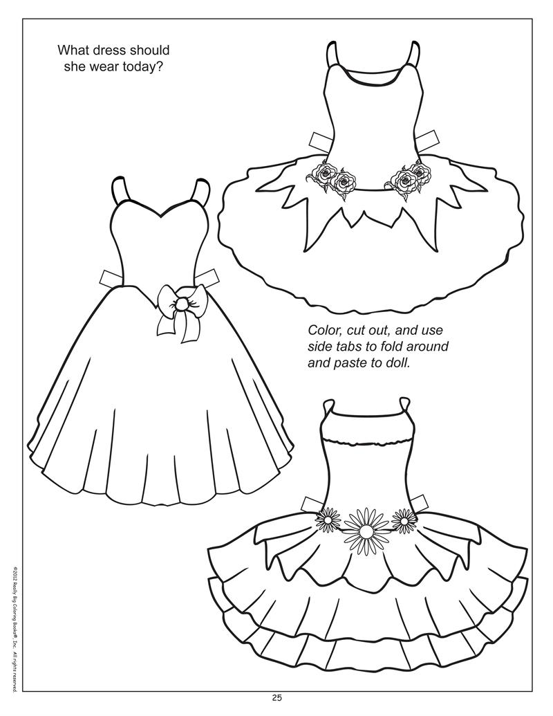 paper doll dress up template coloring books busy book of fun activity book doll up paper template dress