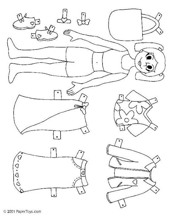 paper doll dress up template printable paper dolls clothes and accessories paper doll up dress template