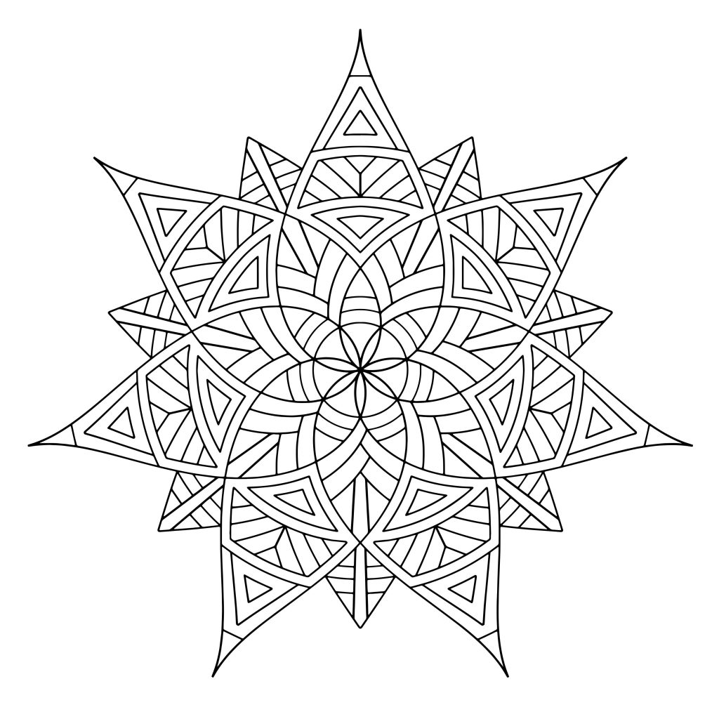 pattern colouring pages to print free printable geometric coloring pages for adults print colouring to pattern pages