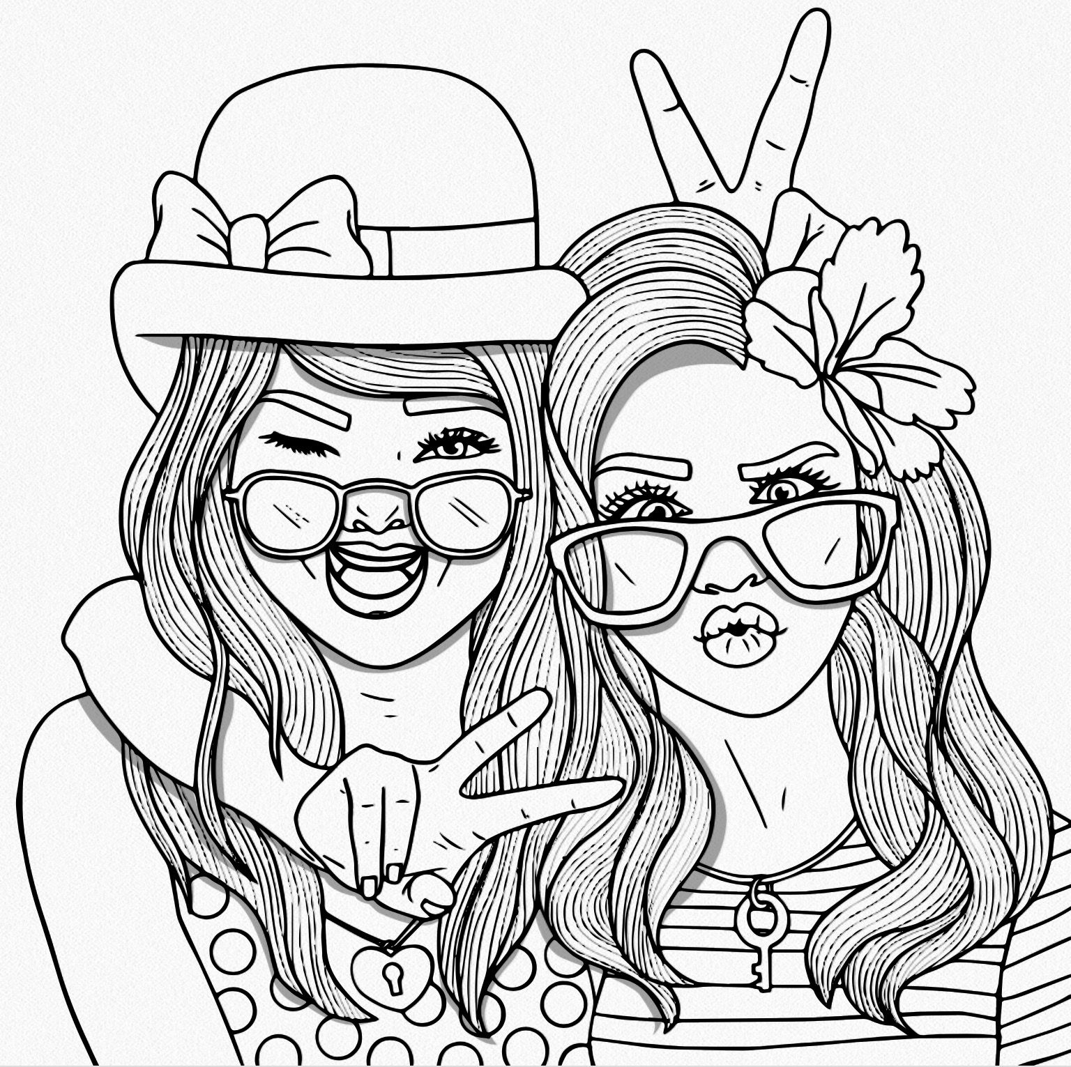 people coloring bestie coloring pages for adults people coloring pages coloring people