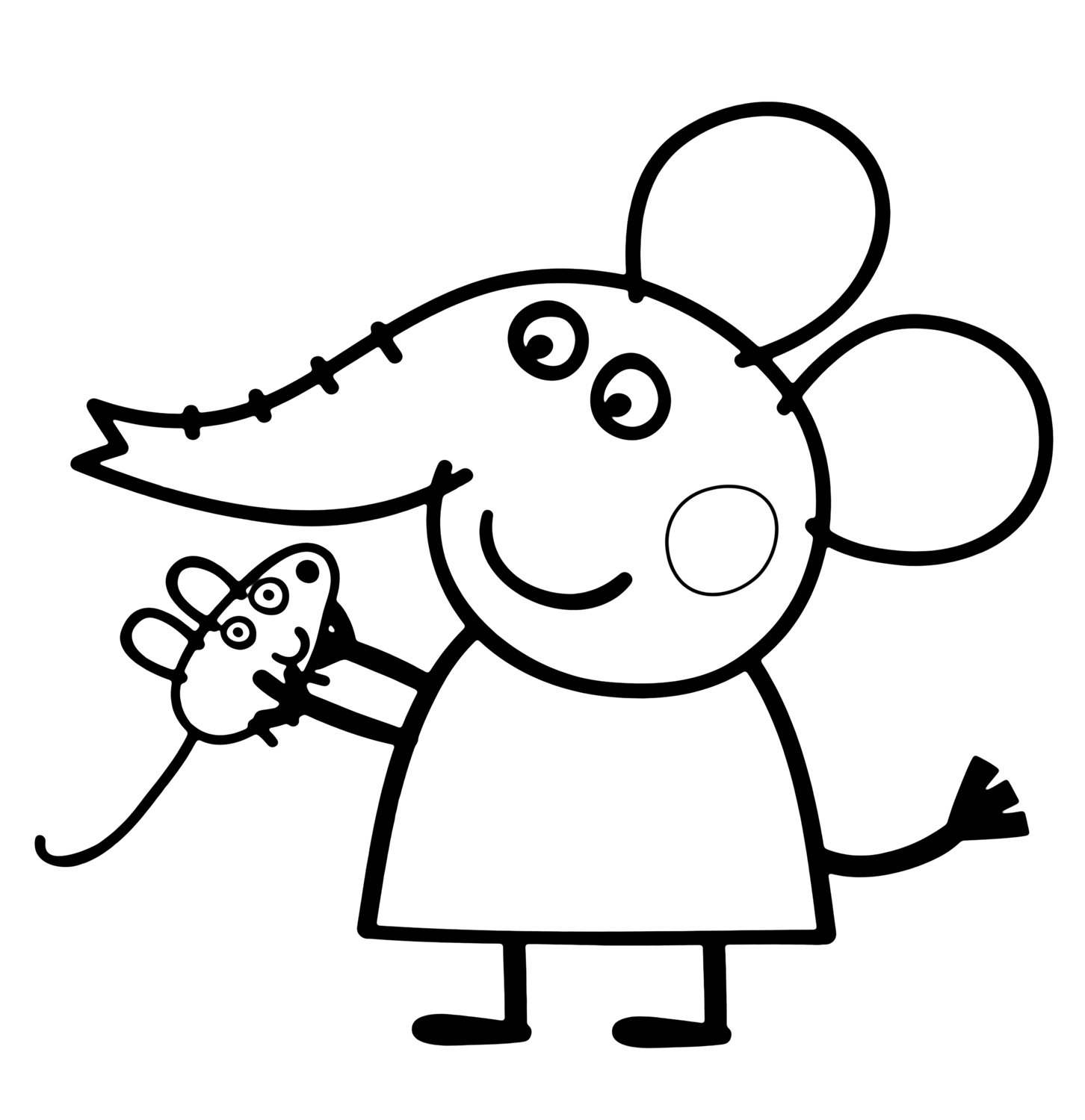 peppa pig coloring in 30 printable peppa pig coloring pages you wont find in coloring pig peppa