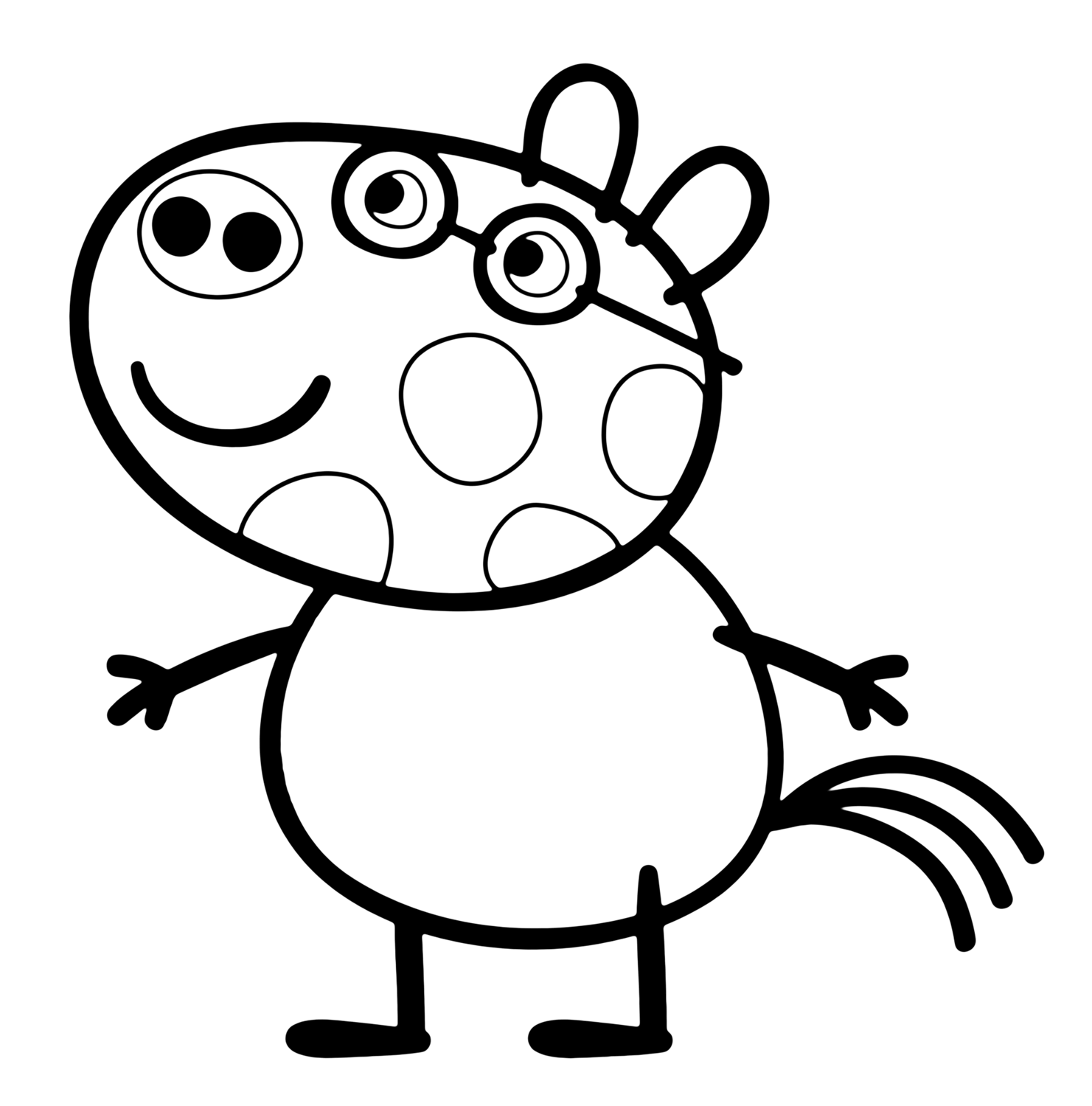 peppa pig coloring in peppa pig coloring pages coloring pages pig peppa in coloring