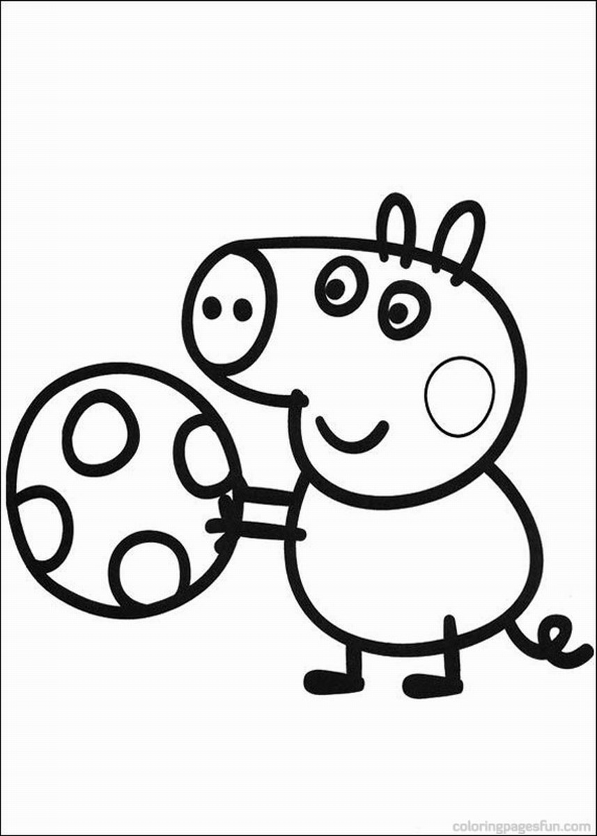 peppa pig colouring pages online peppa pig coloring pages peppa colouring pages online pig