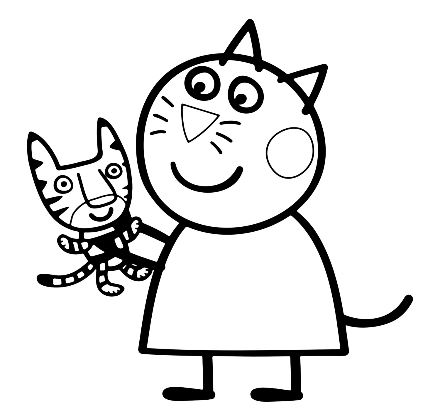 peppa pig colouring pages online the best free peppa coloring page images download from pig colouring pages online peppa