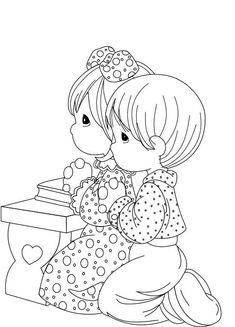 peters friends pray coloring page 1000 images about precious moments on pinterest page friends peters coloring pray