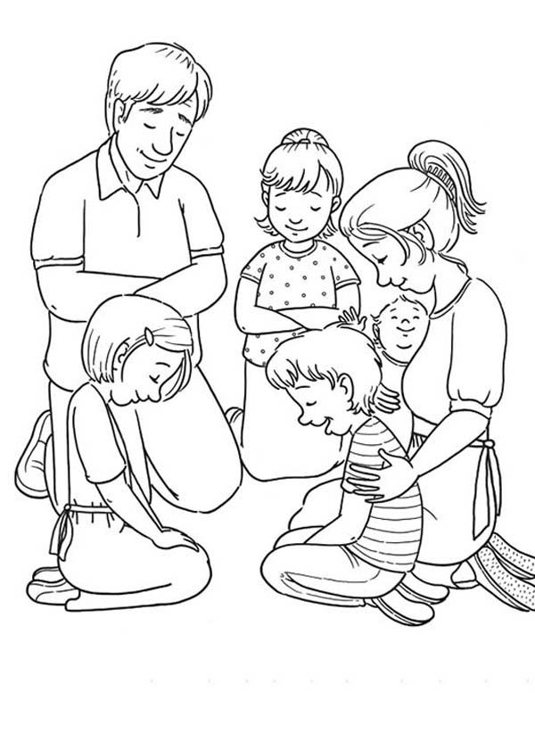 peters friends pray coloring page our father catholic coloring page coloring pages peters friends coloring page pray