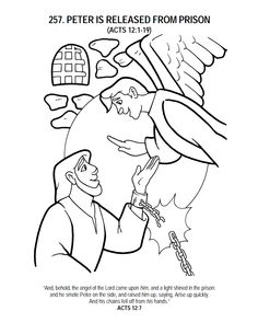 peters friends pray coloring page peter and cornelius coloring page bible coloring pages peters friends page coloring pray