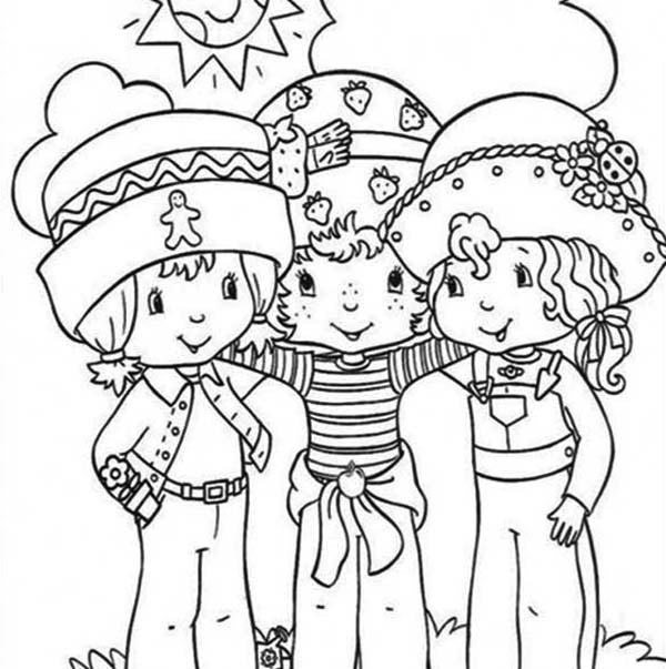 peters friends pray coloring page strawberry shortcake always helping her friends coloring peters page coloring pray friends