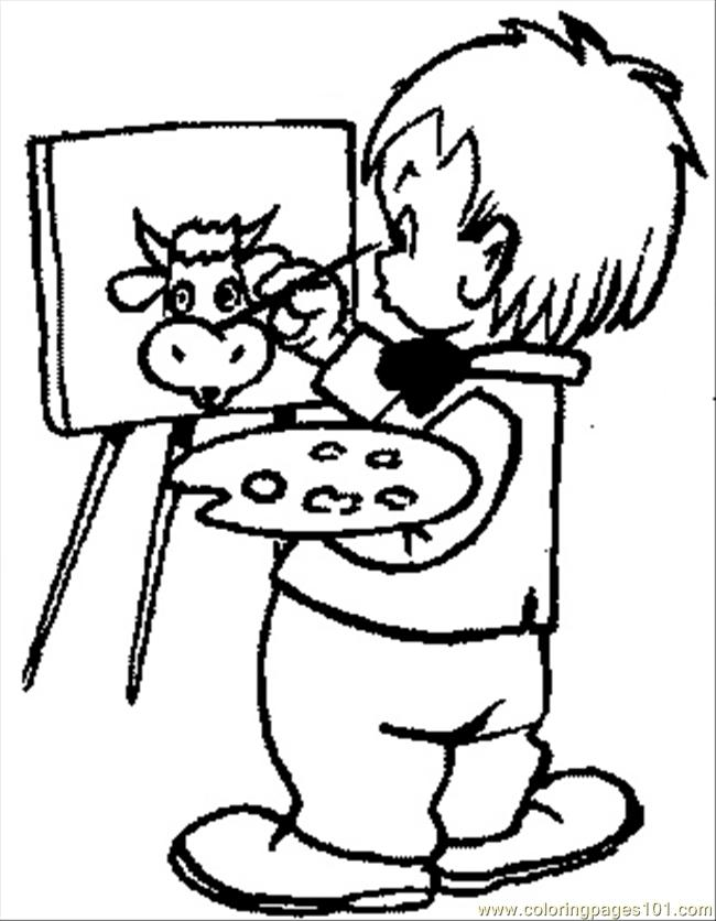 picture for kid painting kids coloring pages 105 coloring page free painting painting kid for picture
