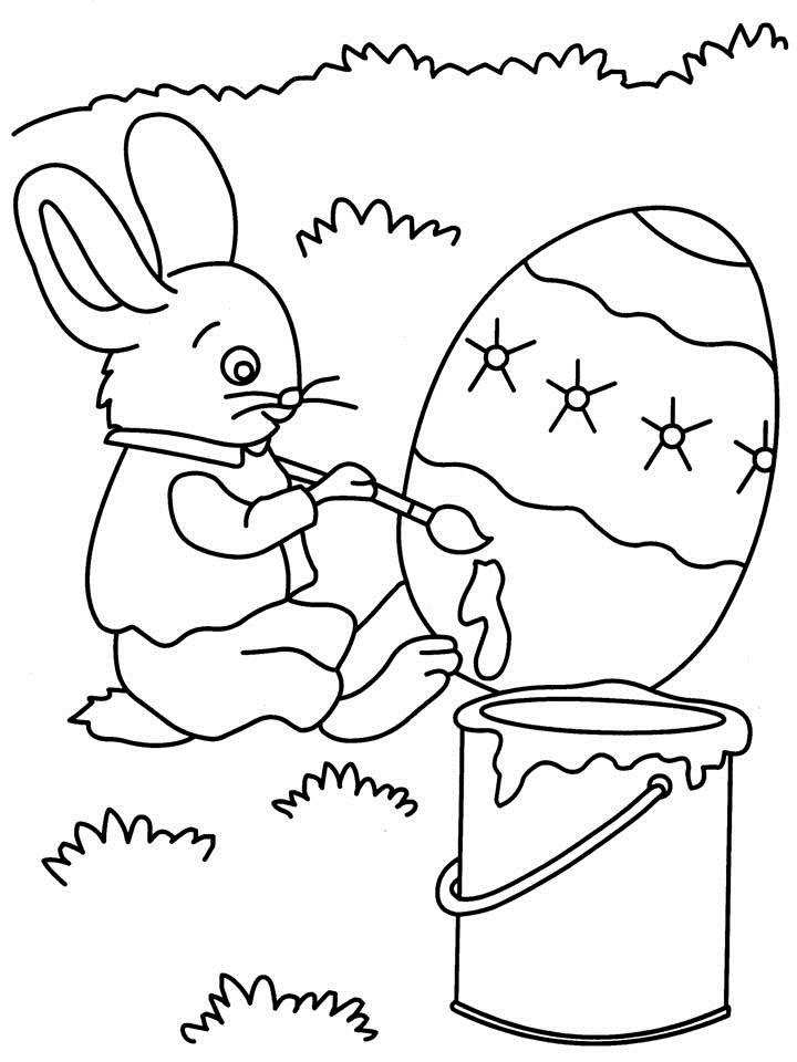 picture for kid painting rabbit painting coloring printable painting picture for kid