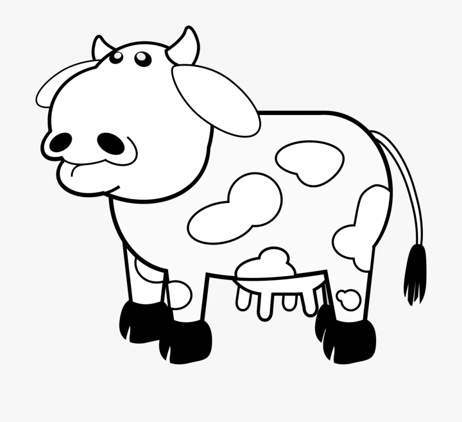 picture of a cow to colour cartoon cow coloring page free printable coloring pages a cow picture colour of to