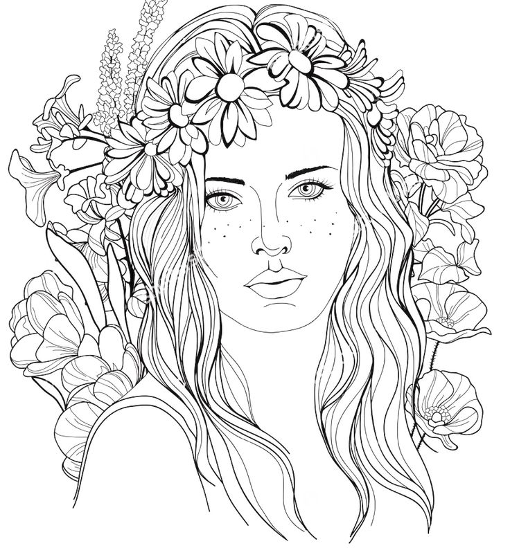 picture of girl coloring page 50 lovely coloring pages for girls coloring girl of page picture