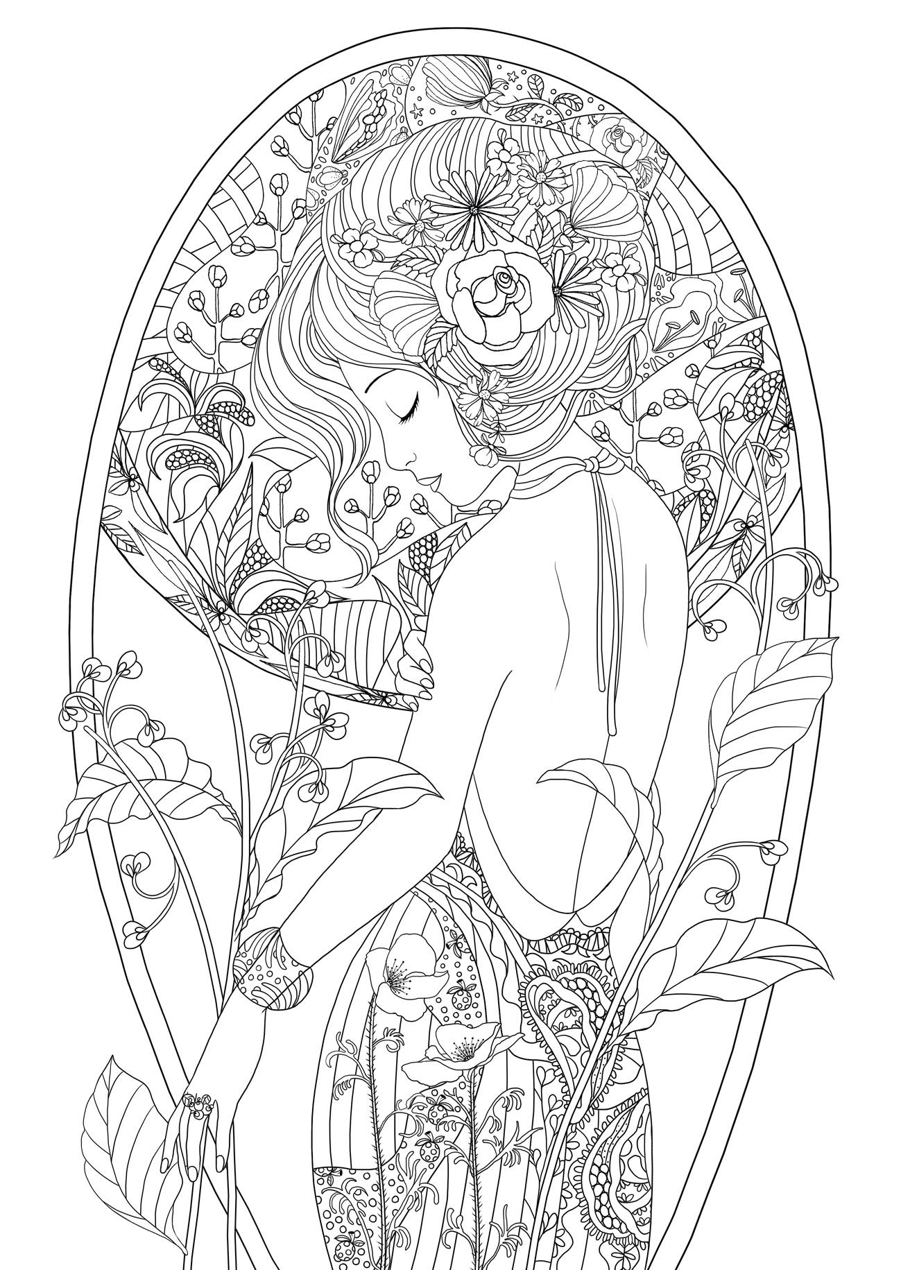 picture of girl coloring page american girl coloring pages best coloring pages for kids page picture of coloring girl