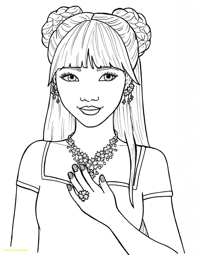 picture of girl coloring page coloring pages for girls best coloring pages for kids coloring page picture of girl