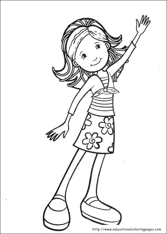 picture of girl coloring page get this american girl coloring pages free printable fyo110 girl coloring of picture page