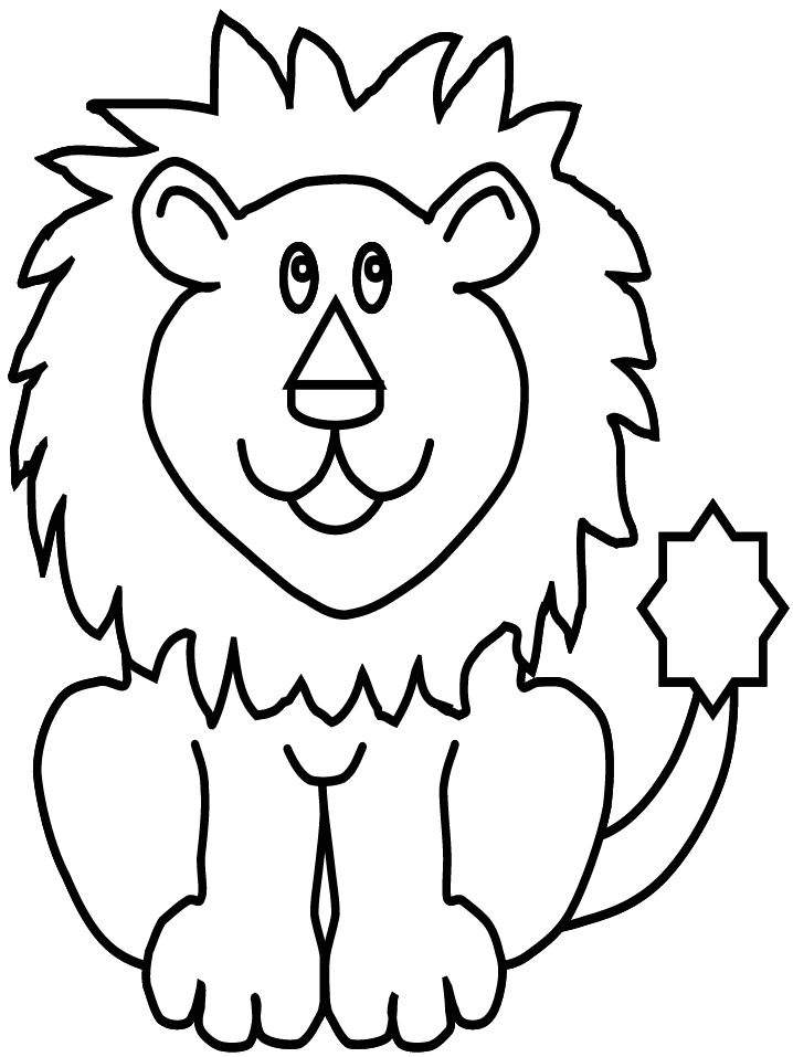 picture of lion coloring page lion face coloring get coloring pages lion coloring picture page of