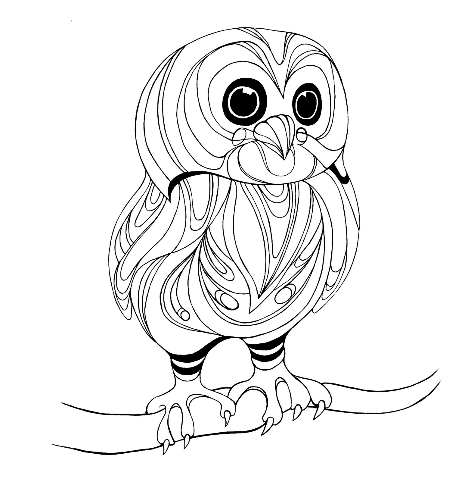 picture of owls to color realistic owl coloring pages at getcoloringscom free of to owls color picture