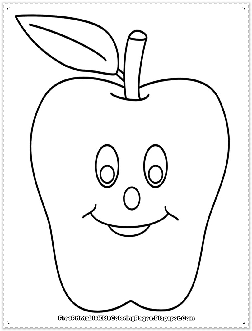 pictures of apples to color 6 best images of apple outline printable full page apple color of to apples pictures