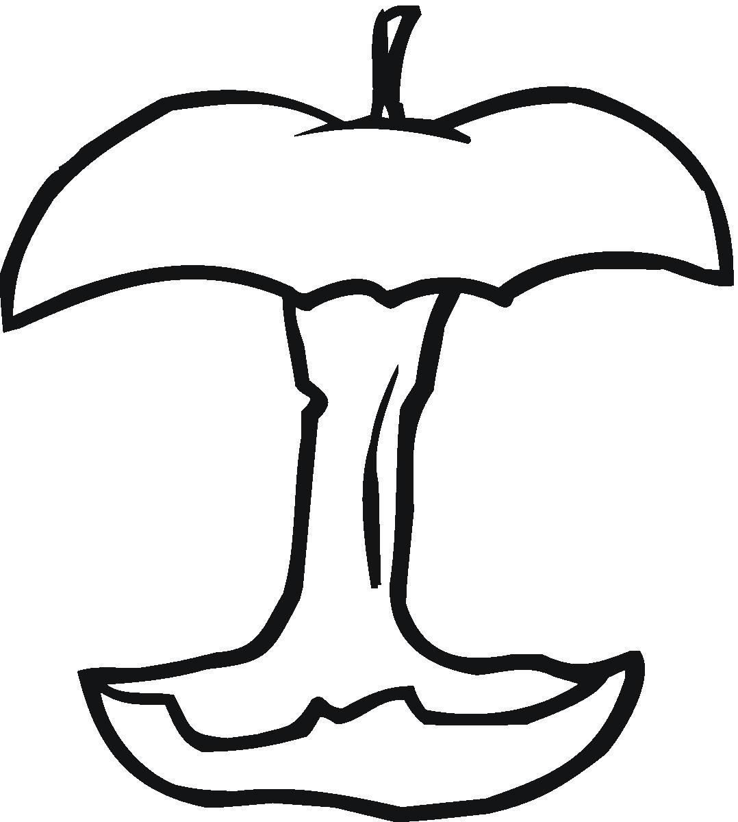 pictures of apples to color free printable apple coloring pages for kids to pictures apples color of
