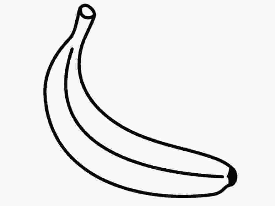 pictures of bananas to print banana template clipart best pictures to bananas of print
